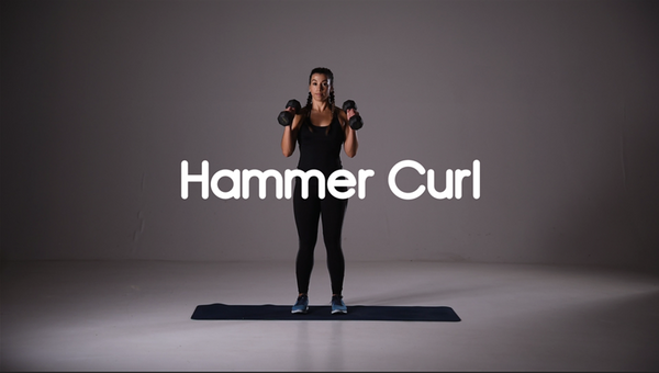 How to do hammer curl hiit exercise