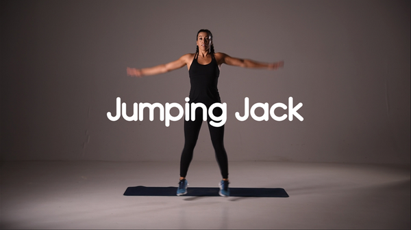 How to do jumping jack hiit exercise