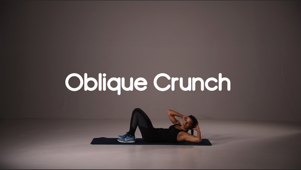 how to do oblique crunch hiit