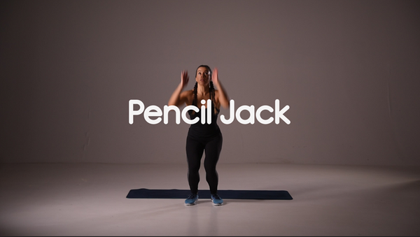 How to do Pencil Jack hiit exercise