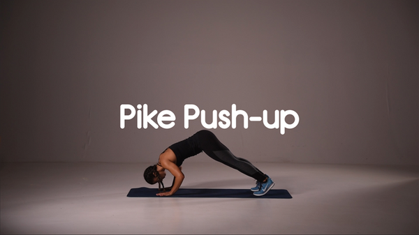 How to do pike push up