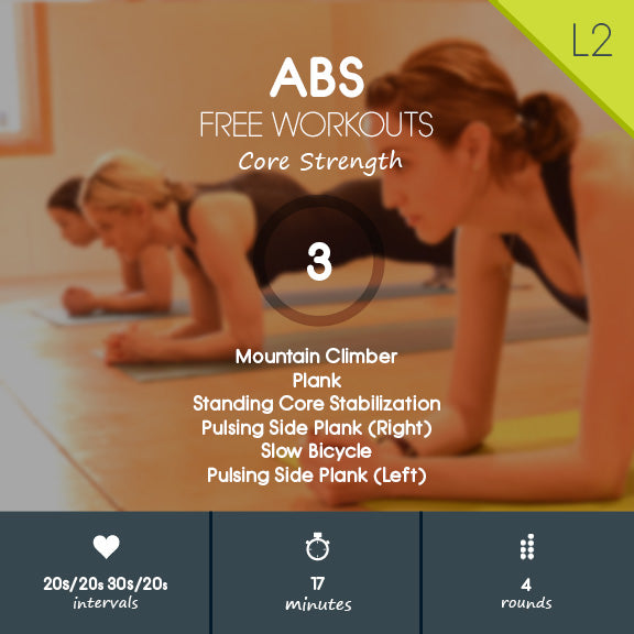 Free ab workout hiit