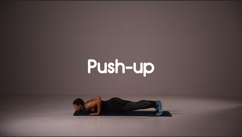how to do a push up hiit exercise