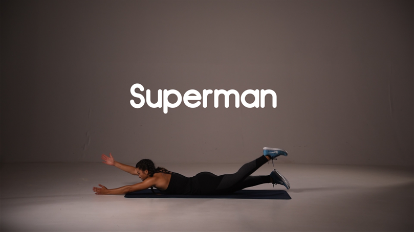 How to do superman ab exercise