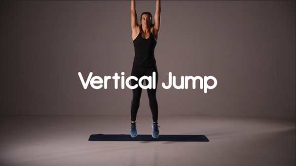 how to do a vertical jump hiit exercise