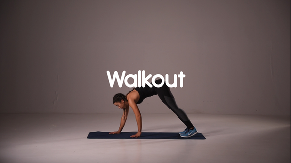 How to do walkout hiit exercise