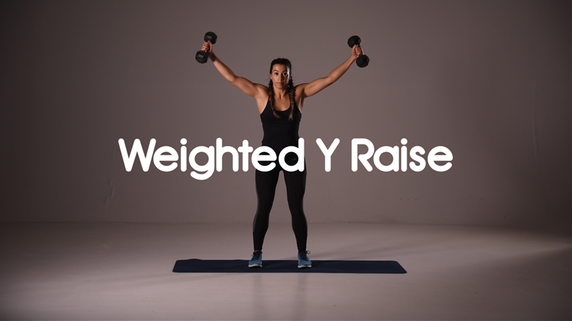 How to do Y Raise hiit exercise