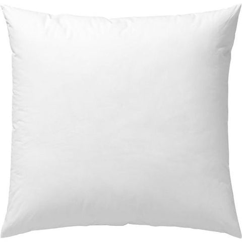 22x22 Pillow Insert Form Filled With Hypoallergenic Outdoor Safe