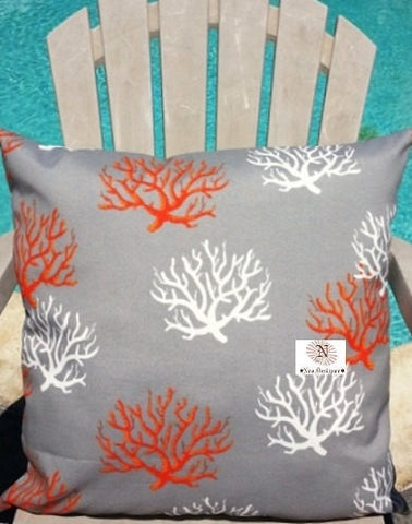 square pillow canoes pillows coral gal collections outdoor leland