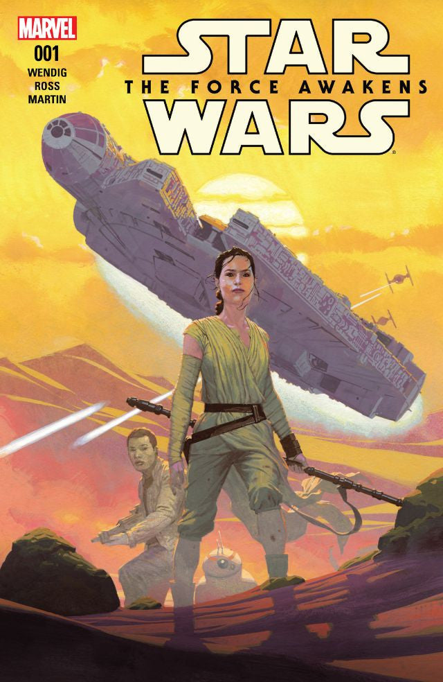 RESEÑA | Star Wars: The Force Awakens (cómic) #1