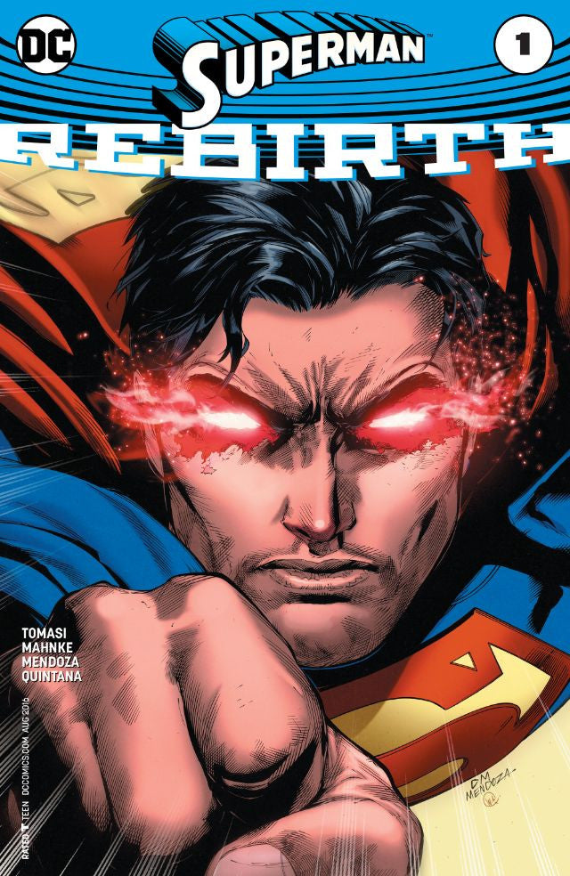 RESEÑA | Superman Rebirth # 1