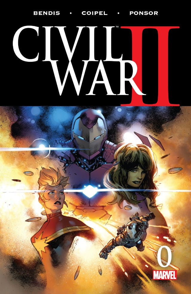 RESEÑA | Civil War II #0