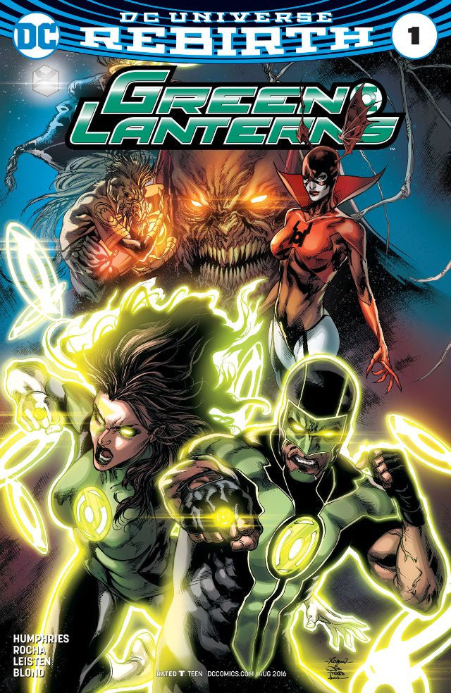 RESEÑA | Green Lanterns #1