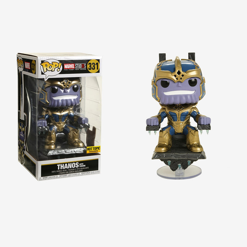 Marvel studios - Funko Pop - Thanos with Throne - Edición Limitada - Preorden