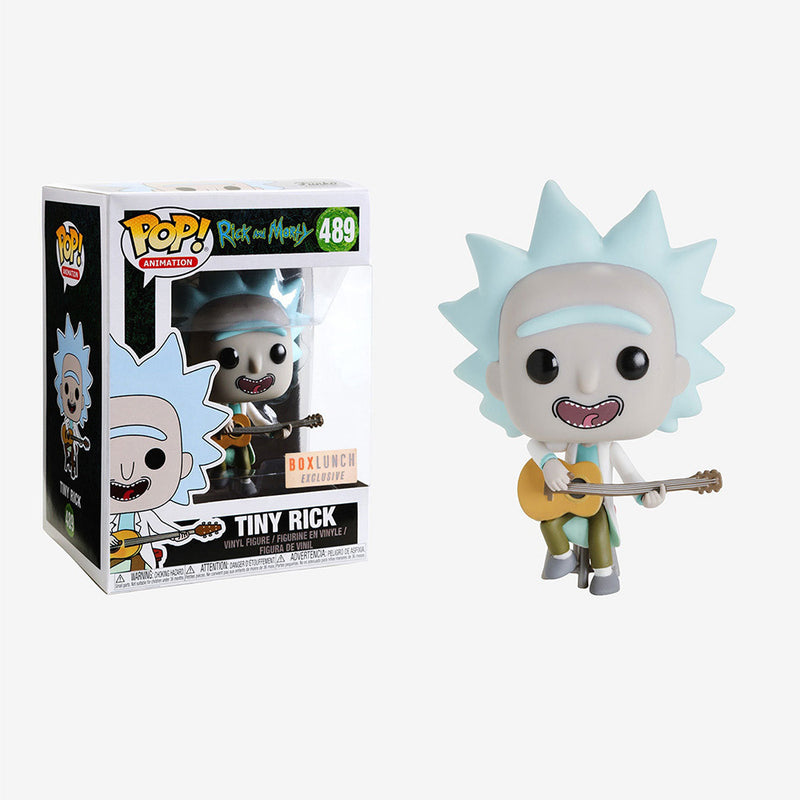 Rick and Morty -  Funko Pop - Tiny Rick - Edición Limitada
