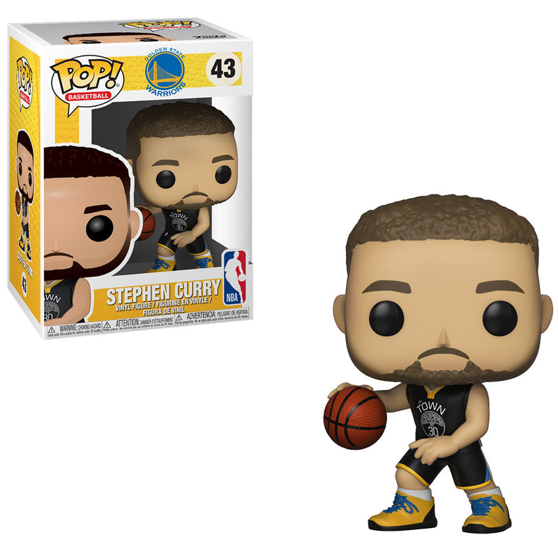 NBA: Warriors - Funko Pop - Stephen Curry