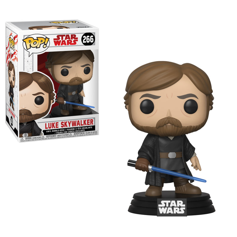 Star Wars: The Last Jedi - Funko Pop - Luke Skywalker Last Battle