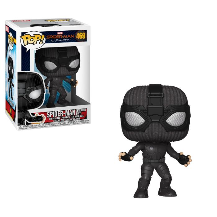 Spider-Man: Far From Home - Funko Pop - Spider-Man (Stealth Suit)