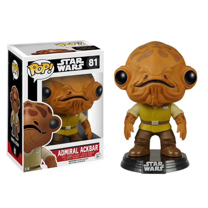 Star Wars - Funko POP - Admiral Ackbar