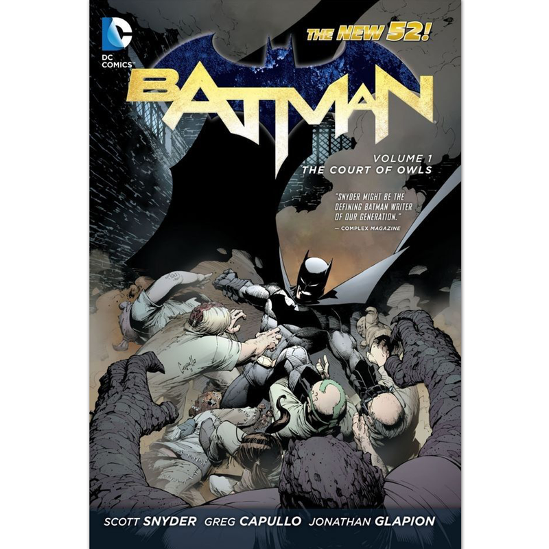 Batman Vol1:  The Court of Owls - Novela Gráfica - Inglés