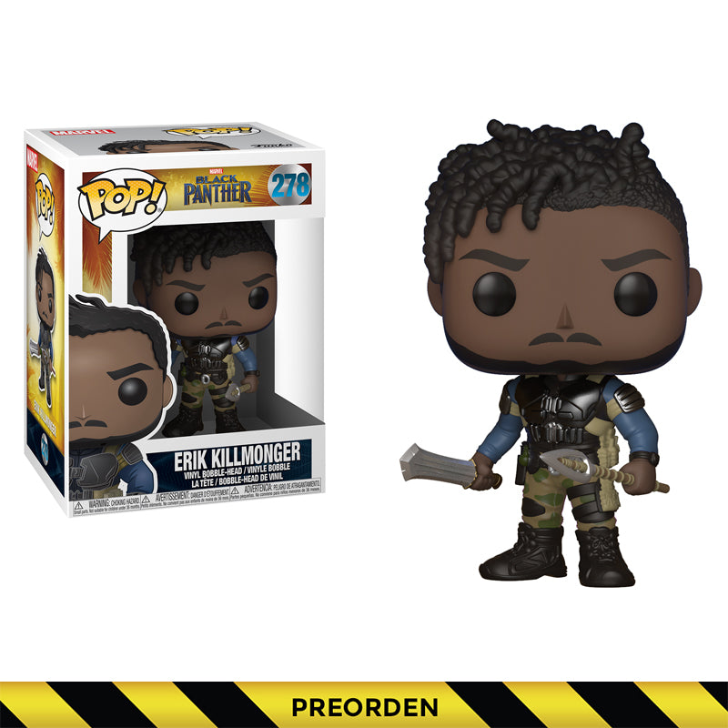 Black Panther - Funko Pop - Erik Killmonger - Preorden