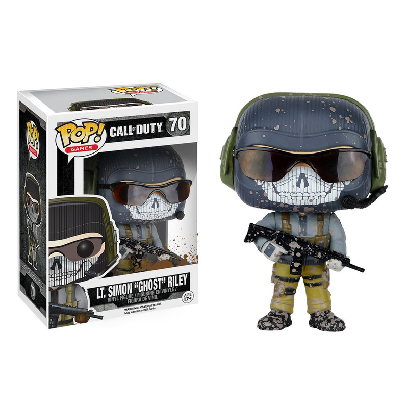 "Call of Duty - Funko POP - Lt. Simon ""Ghost"" Riley"