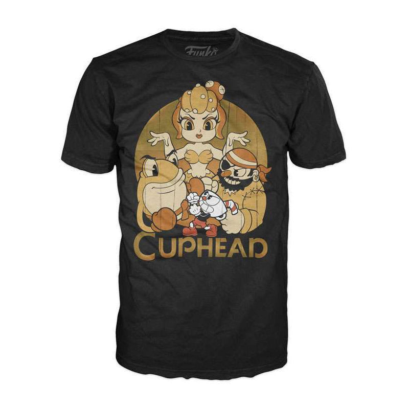 Cuphead - Camiseta - Cuphead and Bosses - Unisex