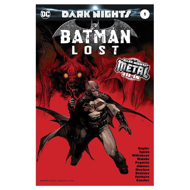 Dark Nights Metal - Batman Lost - Tie-In - Comic -  Edic. Limitada - Inglés
