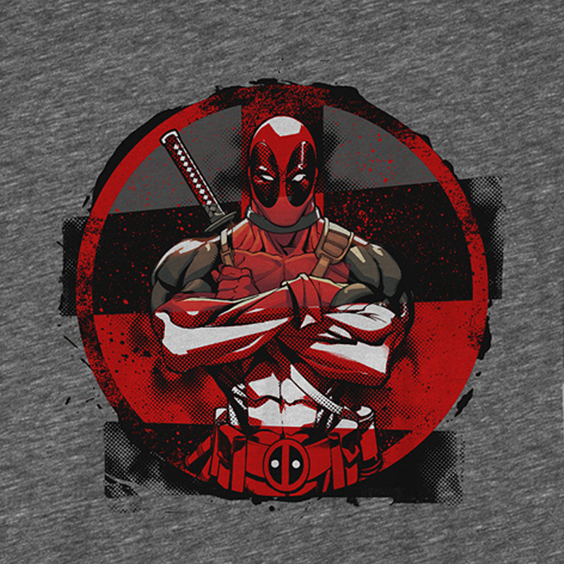 Deadpool- Camiseta - Mercenary - Hombre