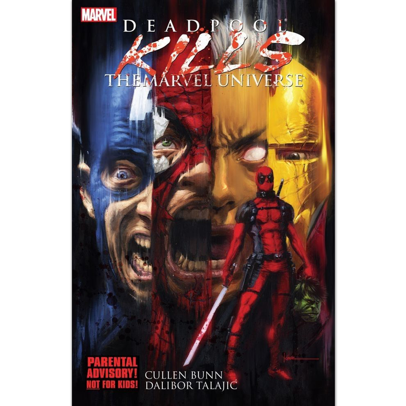 Deadpool Kills the Marvel Universe - Novela Gráfica - Inglés