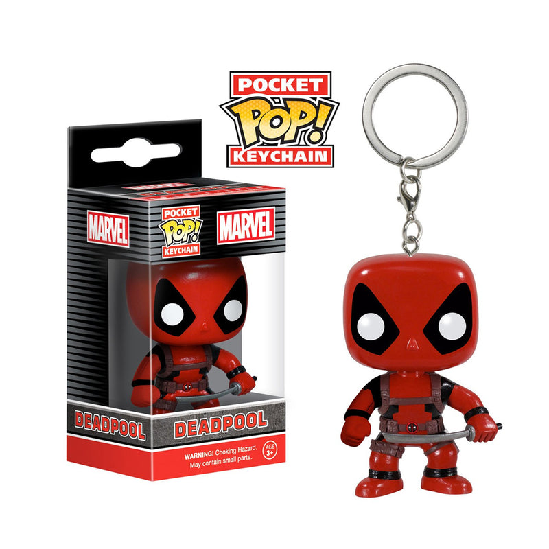 Marvel - Funko Pop Llavero - Deadpool
