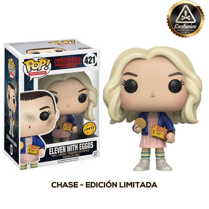 "Stranger Things – Funko Pop – Eleven with Eggos ""Chase"" - Edición Limitada"