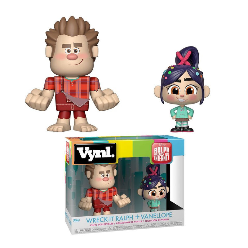 Wreck-It Ralph 2 - Funko Vynl - Wreck-It Ralph and Vanellope