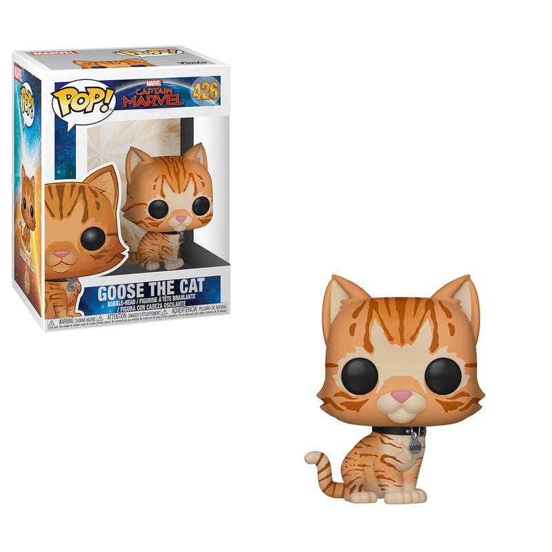 Captain Marvel - Funko Pop - Goose the Cat - Preorden