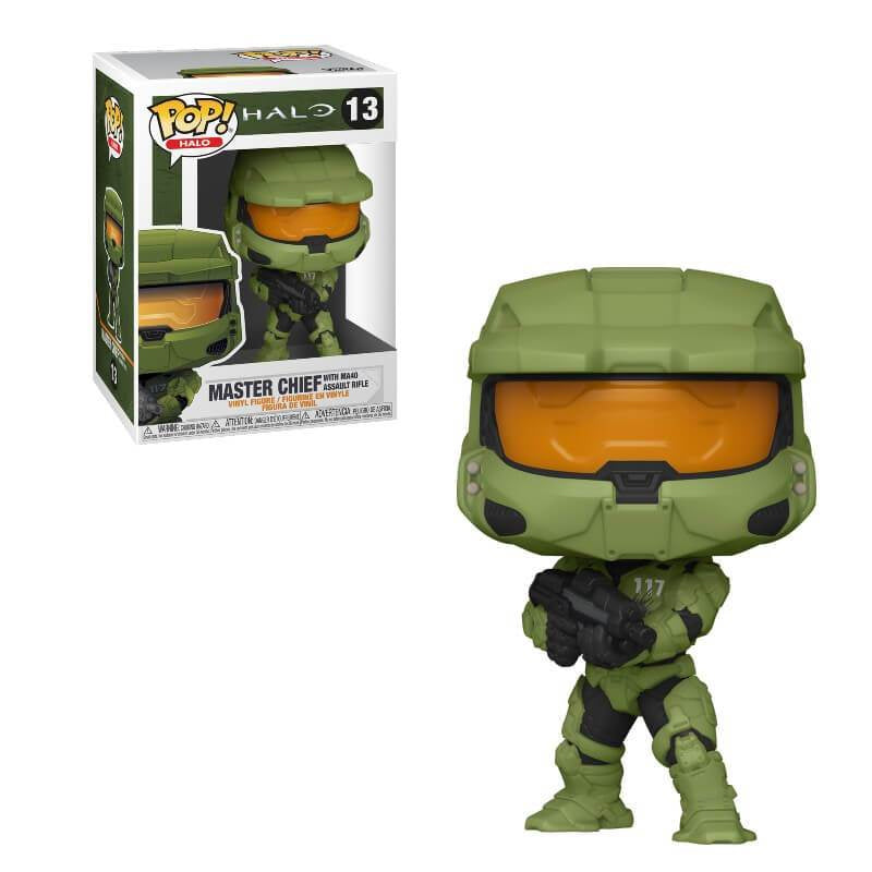Halo - Funko Pop - Master Chief with MA40 Rifle