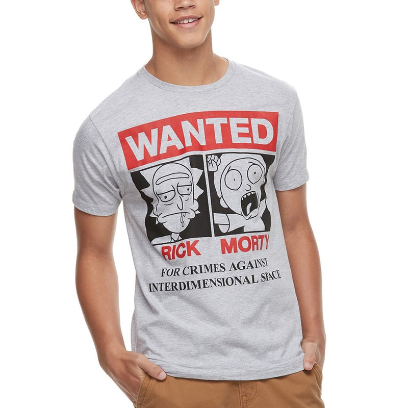 Rick and Morty - Camiseta - Wanted - Hombre