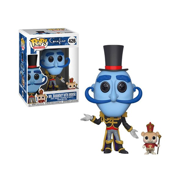 Coraline - Funko POP - Mr. Bobinsky with mouse - Preorden