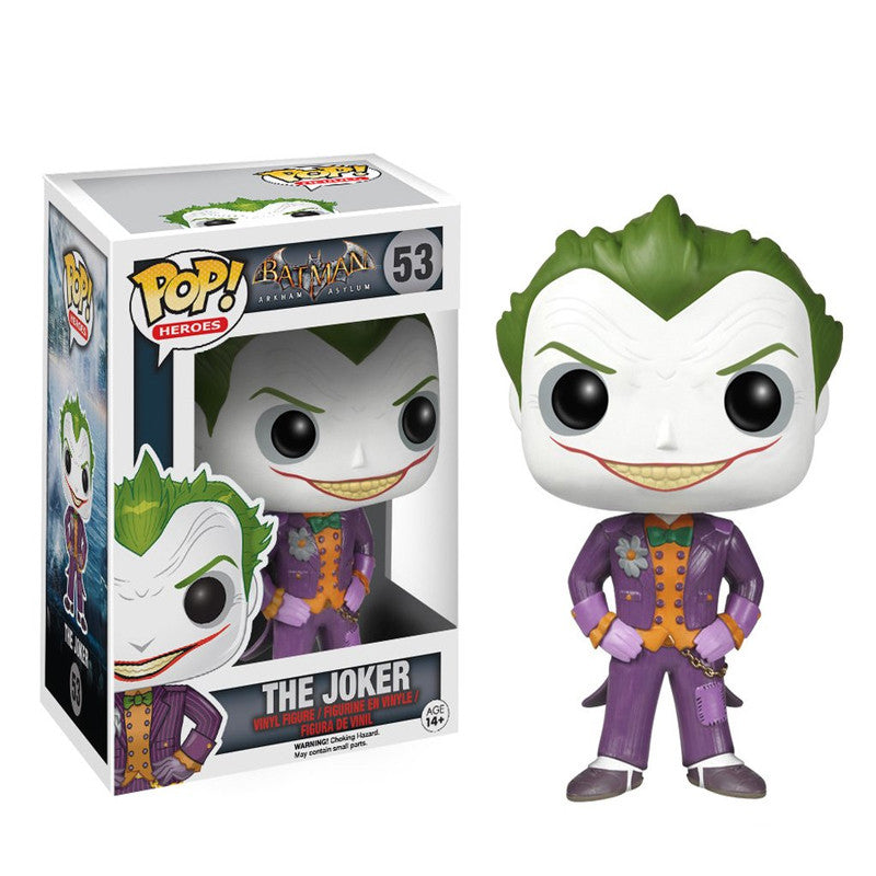 Arkham Asylum - Funko POP - The Joker