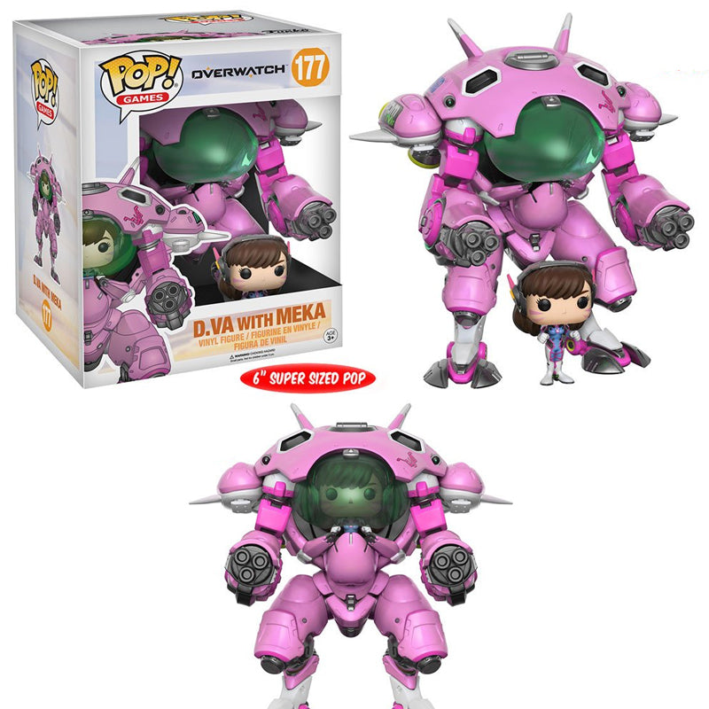 Overwatch - Funko POP -  D.VA with Meka