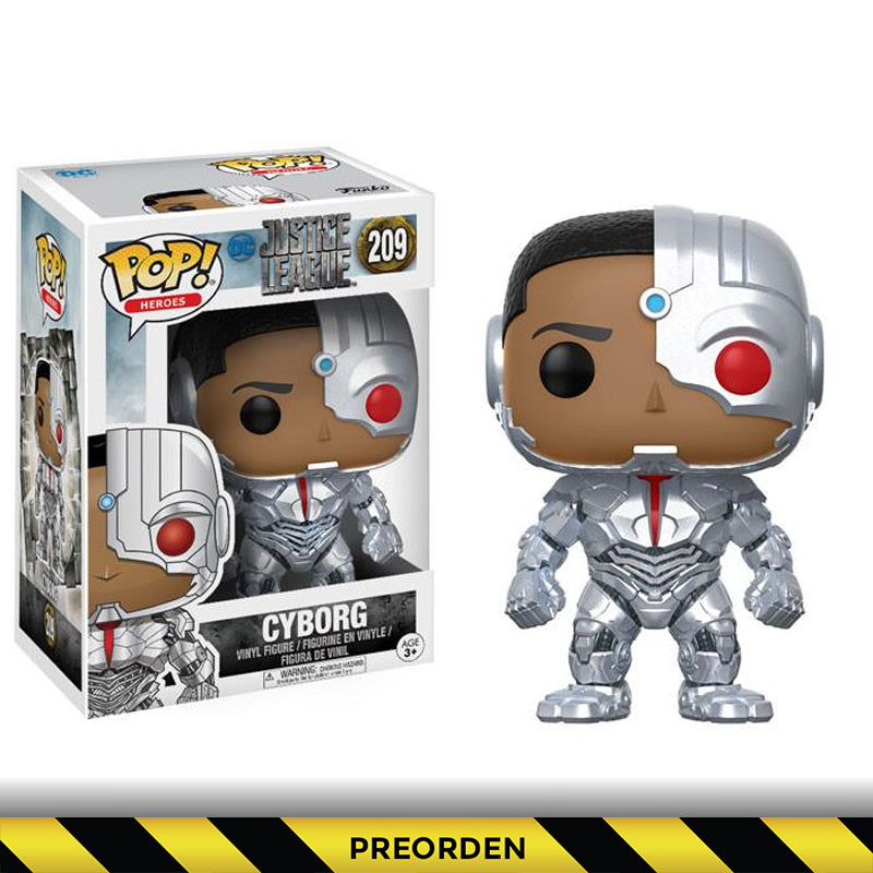 Justice League -  Funko Pop - Cyborg – Preorden