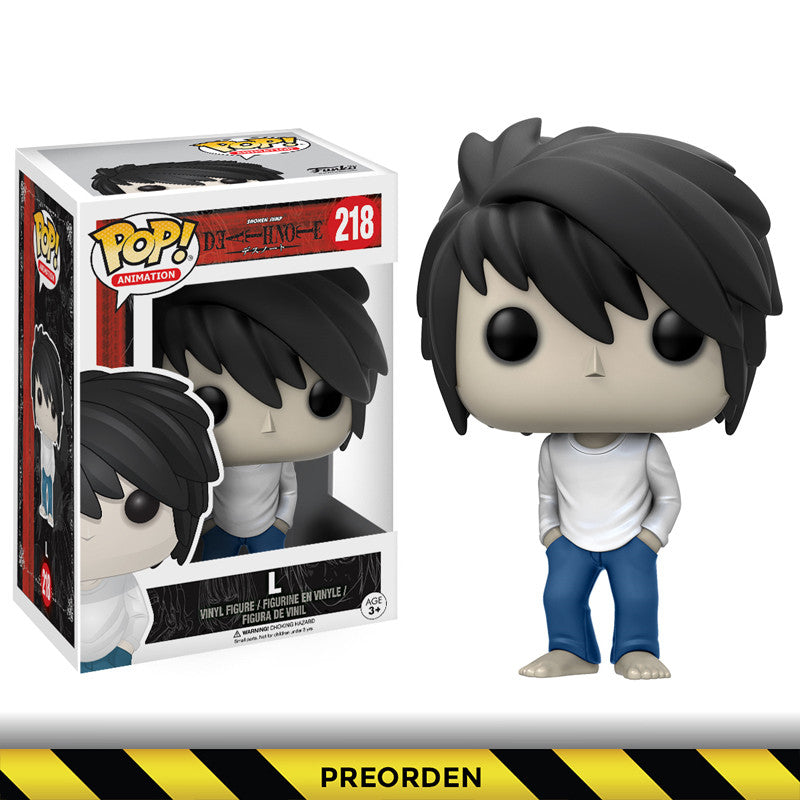 Death Note - Funko Pop – L - Preorden