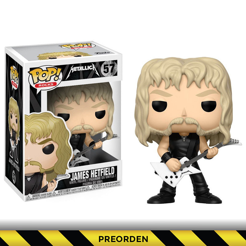Metallica -  Funko Pop - James - Preorden