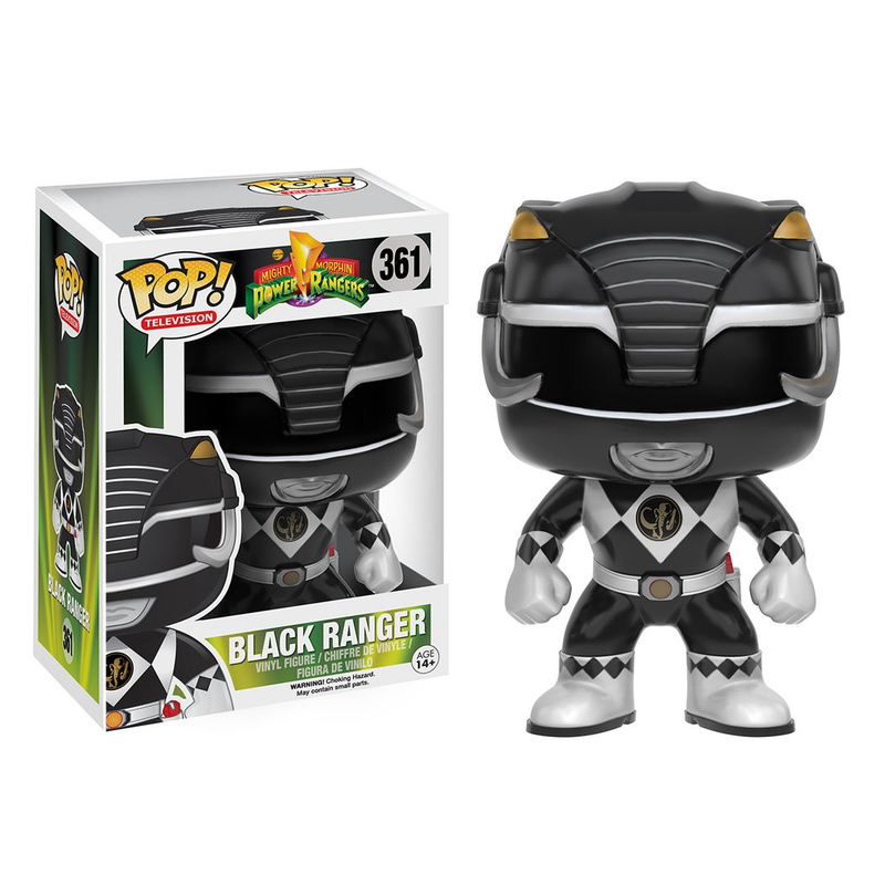 Power Rangers - Funko POP - Black Ranger