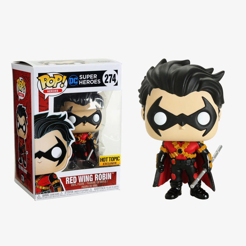 DC Super Heroes - Funko POP - Red Wing Robin - Edición Limitada