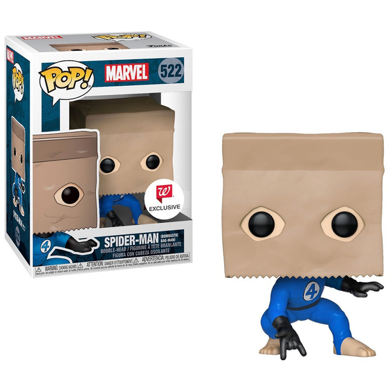 Marvel - Funko POP - Spider-Man (Bombastic Bag-Man) - Edición Limitada