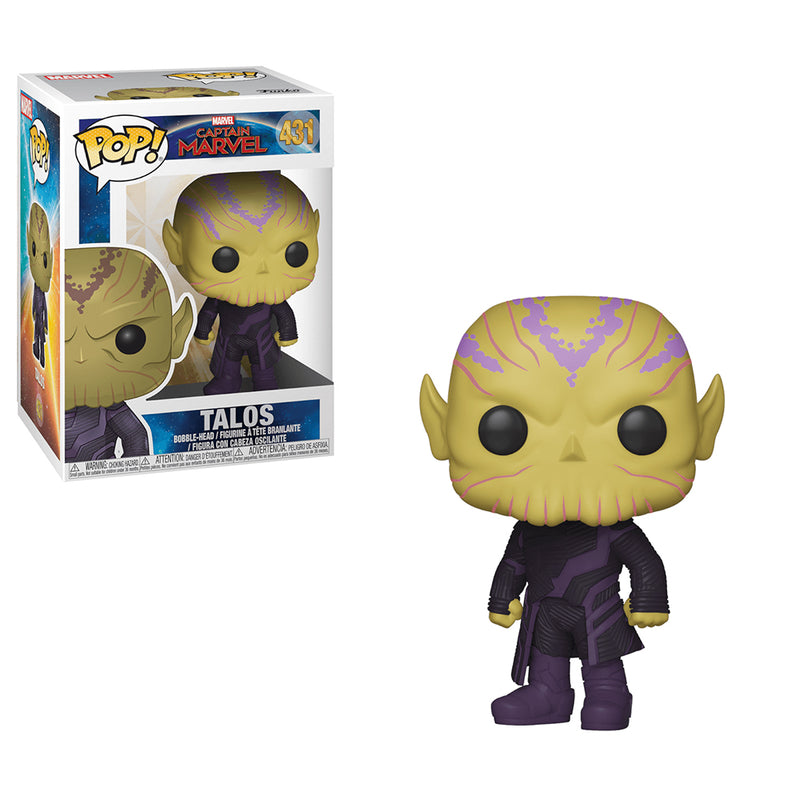 Captain Marvel - Funko Pop - Talos - Preorden