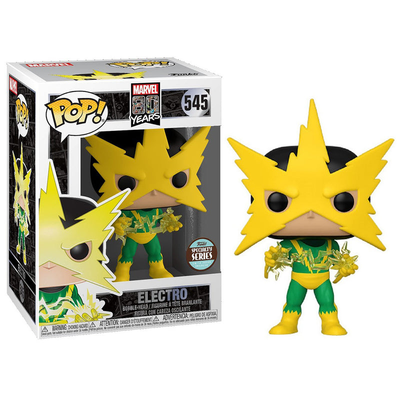 Marvel 80th - Funko Pop - Electro (First Appearance) - Edición Limitada