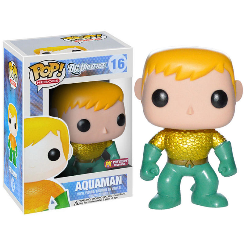 DC Universe -  Funko Pop - Aquaman (Previews Exclusive)