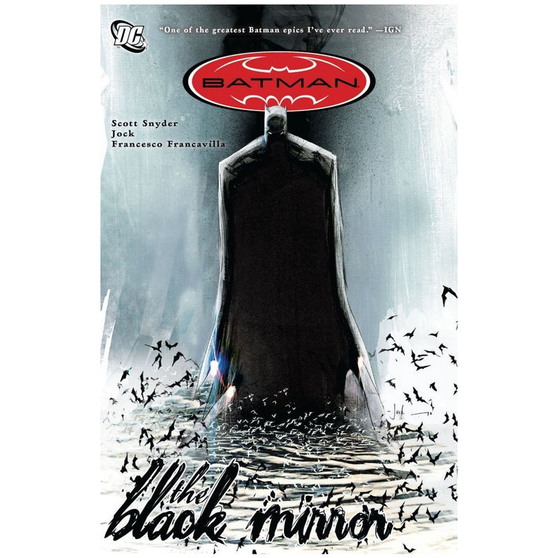 Batman: The Black Mirror - Novela Gráfica - Inglés