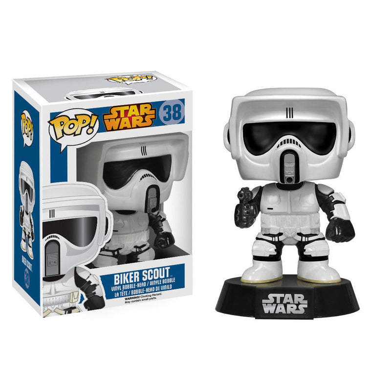 Star Wars - Funko POP - Biker Scout